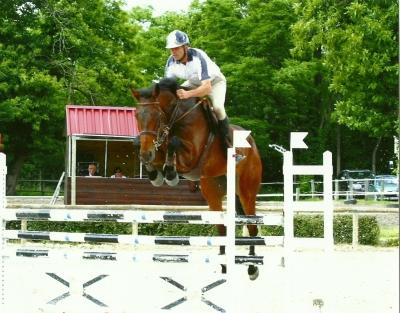 Félicitations à RAVEL DIAM et son cavalier, Vincent Vernhes, qualifié Pompadour CC 7ans!!!!!