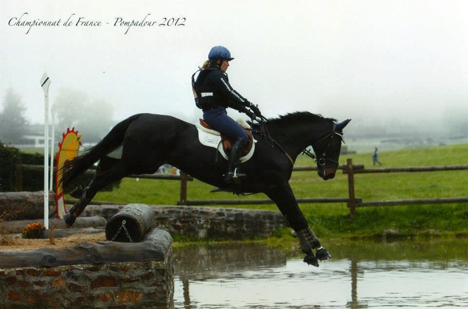 Félicitations à Oberon de Cayrou par Quack *AA* et sa cavaliere Cecile Travaille; Champion de France Amateur CCE!!!