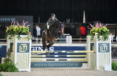 CC Stud's Key to Success par Diabeau vd Heffinck-Vainqueur Premier Equine 4ans Championship(USA)